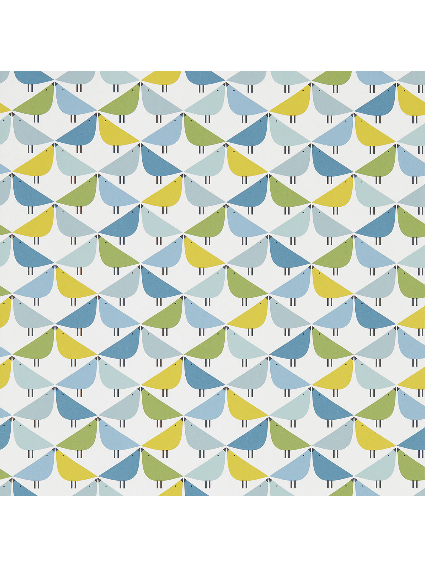 Buy Scion Lintu Wallpaper, Gecko / Pacific / Glacier 111521 Online at johnlewis.com