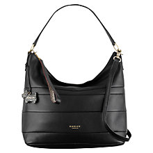 Buy Radley Berwick Street Leather Grab Bag, Black Online at johnlewis.com