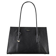 Buy Radley Wentworth Street Leather Tote Bag, Black Online at johnlewis.com
