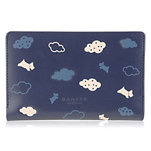 Buy Radley Every Cloud Leather Medium Zip Purse, Navy Online at johnlewis.com