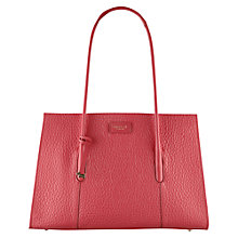 Buy Radley Wentworth Street Leather Tote Bag, Pink Online at johnlewis.com