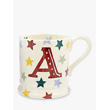Buy Emma Bridgewater Polka Stars Alphabet Mug, 310ml Online at johnlewis.com