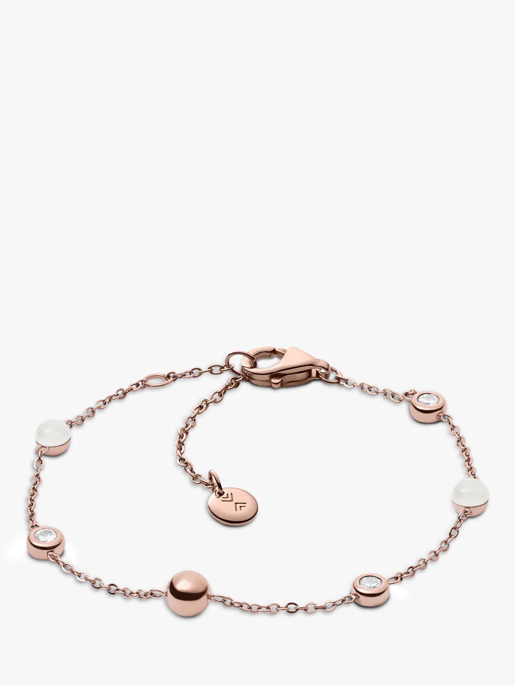 skagen Skagen Seaglass Chain Bracelet, Rose Gold SKJ0971791