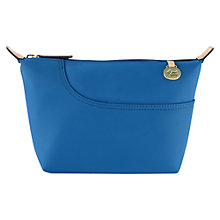 Buy Radley Pocket Essentials Medium Makeup Bag, Blue Online at johnlewis.com