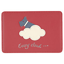 Buy Radley Silver Lining Leather Travelcard Holder, Pink Online at johnlewis.com