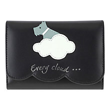 Buy Radley Silver Lining Leather Medium Purse, Black Online at johnlewis.com