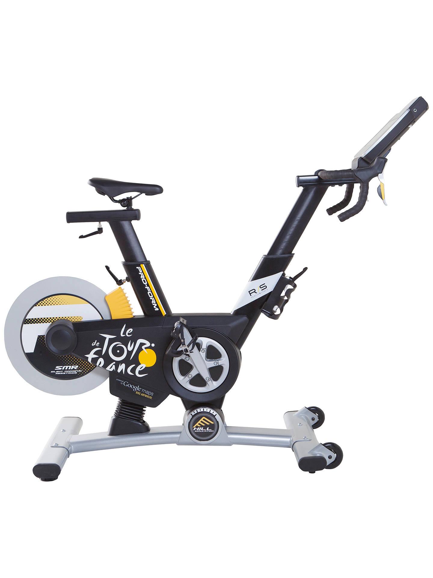 Proform Tour De France Pro 50 Indoor Studio Bike Blackwhite