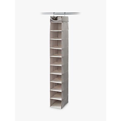 neatfreak! Twill 10 Shelf Hanging Organiser