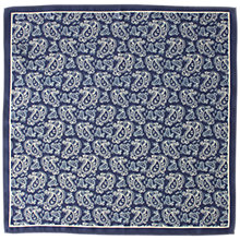Buy John Lewis Silk Paisley Pocket Square Online at johnlewis.com