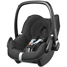 Buy Maxi-Cosi Black Crystal Pebble & Pearl Car Seats and Family Fix Base bundle Online at johnlewis.com