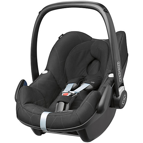 buy maxi cosi pebble group 0 baby car seat black diamond john lewis. Black Bedroom Furniture Sets. Home Design Ideas