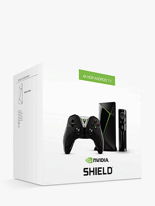 Buy NVIDIA SHIELD TV Media Streamer, 16GB Online at johnlewis.com