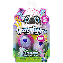 Buy Hatchimals Colleggtibles, Pack of 2 Online at johnlewis.com