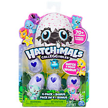 Buy Hatchimals Colleggtibles, Pack of 4 Online at johnlewis.com