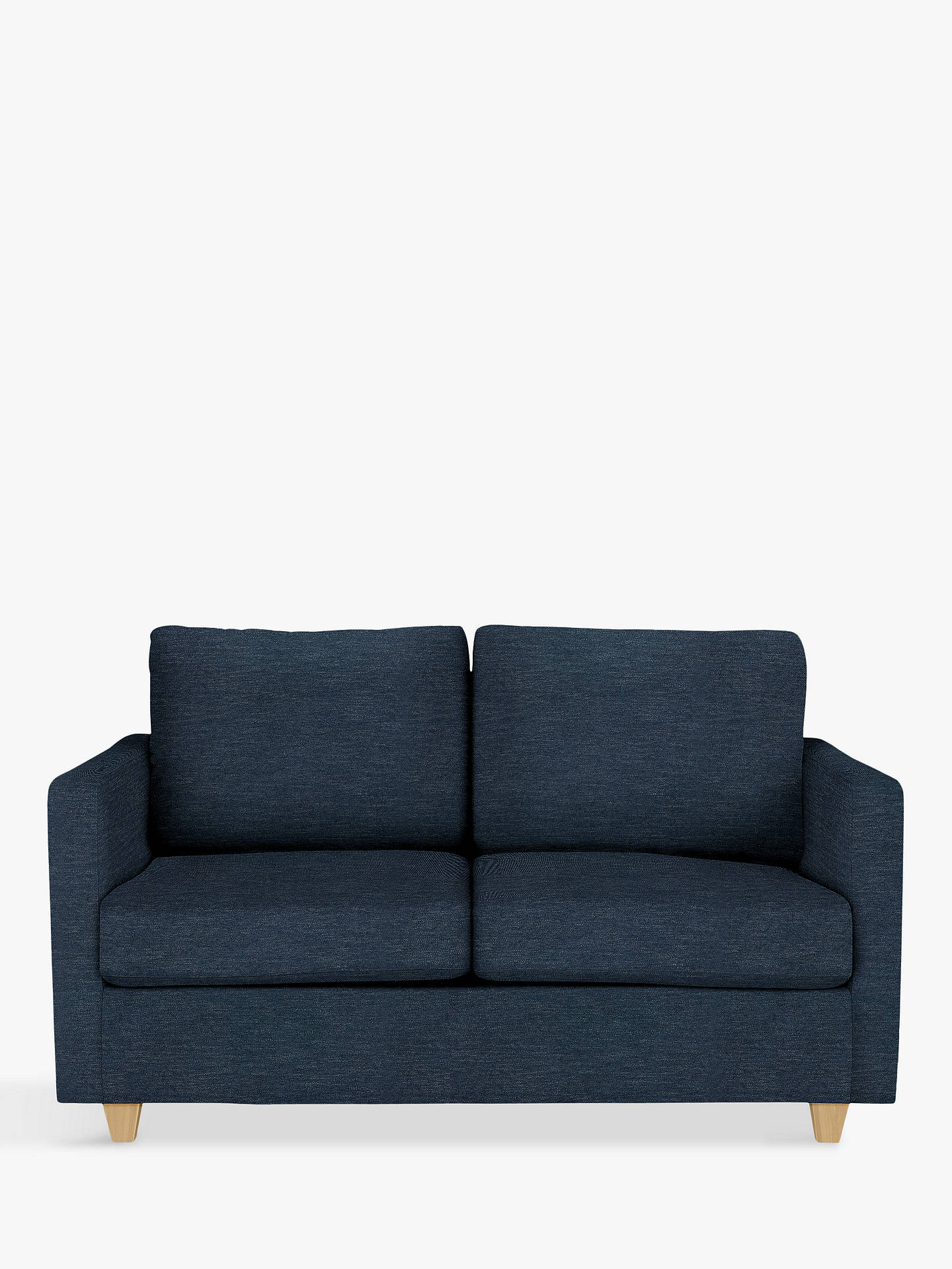 Outstanding John Lewis Partners Barlow Small 2 Seater Sofa Bed With Pocket Sprung Mattress Erin Midnight Alphanode Cool Chair Designs And Ideas Alphanodeonline