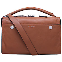 Buy Kurt Geiger Emma Leather Bowling Bag Online at johnlewis.com