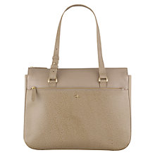 Buy Tula Rye Leather Medium Tote Bag, Beige Online at johnlewis.com