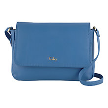 Buy Tula Nappa Originals Leather Small Flap Over Across Body Bag Online at johnlewis.com