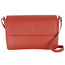 Buy Tula Nappa Originals Leather Medium Flap Over Across Body Bag Online at johnlewis.com