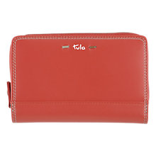 Buy Tula Violet Leather Purse Online at johnlewis.com