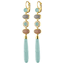 Buy Dyrberg/Kern French Hook Long Drop Earrings Online at johnlewis.com