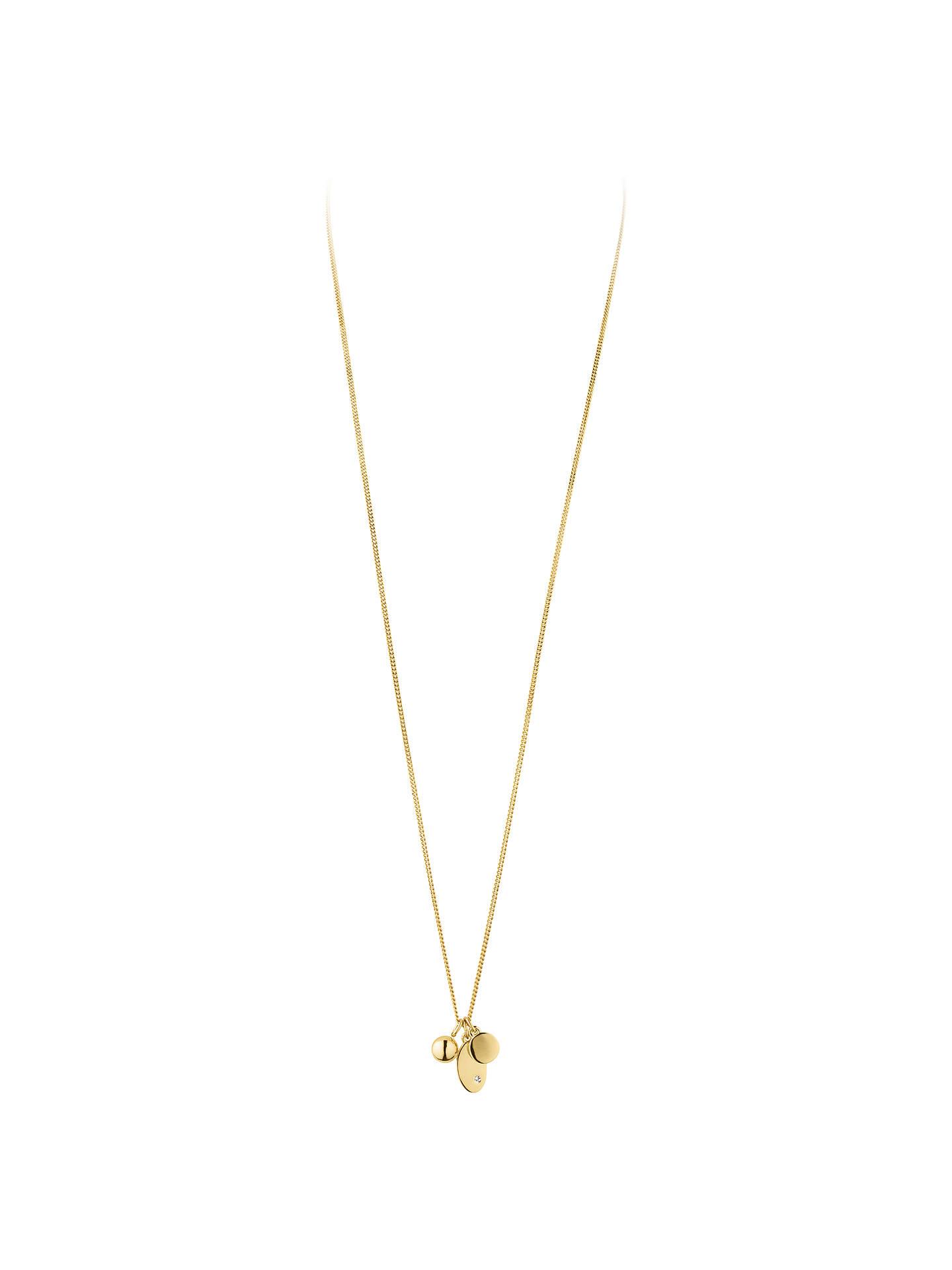 50a72d91b365 DYRBERG KERN Swarovski Crystal Triple Pendant Necklace at John Lewis ...