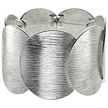 Buy John Lewis Circle Disc Bracelet, Silver Online at johnlewis.com