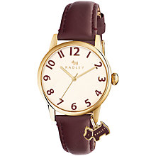 Buy Radley Women's Liverpool Street Leather Strap Watch Online at johnlewis.com