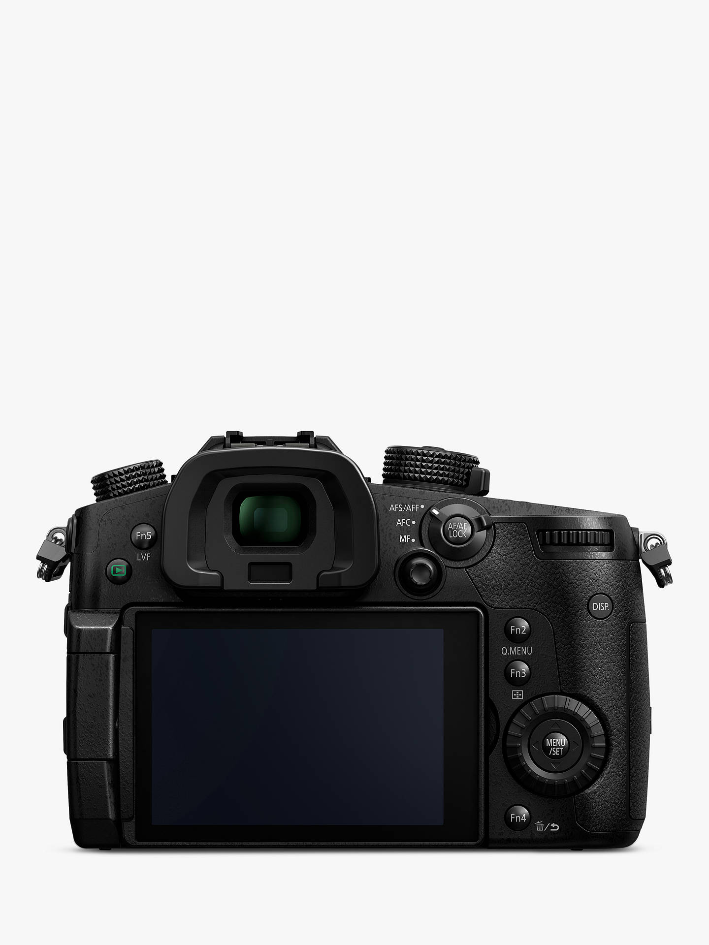 "BuyPanasonic Lumix DC-GH5 Compact System Camera, 4K UHD, 20.3MP, Wi-Fi, OLED Live Viewfinder, 3.2"" LCD Vari-Angle Touch Screen, Body Only Online at johnlewis.com"