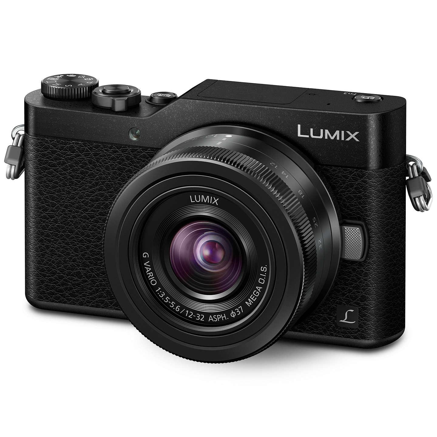 "BuyPanasonic Lumix DC-GX800 Compact System Camera with 12-32mm Interchangeable Lens, 4K Ultra HD, 16MP, 4x Digital Zoom, Wi-Fi, 3"" Tiltable LCD Touch Screen, Black Online at johnlewis.com"