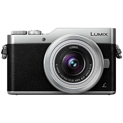 Image of Panasonic Lumix DC-GX800 Compact System Camera with 12-32mm Interchangeable Lens, 4K Ultra HD, 16MP, 4x Digital Zoom, Wi-Fi, 3 Tiltable LCD Touch Screen