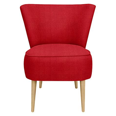 Madison Modern Leather Italian Armchair Loop Co Anita