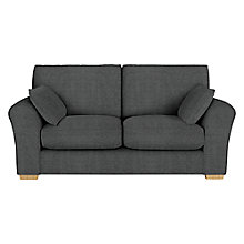 Buy John Lewis Leon Medium 2 Seater Sofa, Dark Leg, Elena Charcoal Online at johnlewis.com