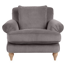 Buy John Lewis Croft Collection Findon Armchair, Oak Leg Online at johnlewis.com