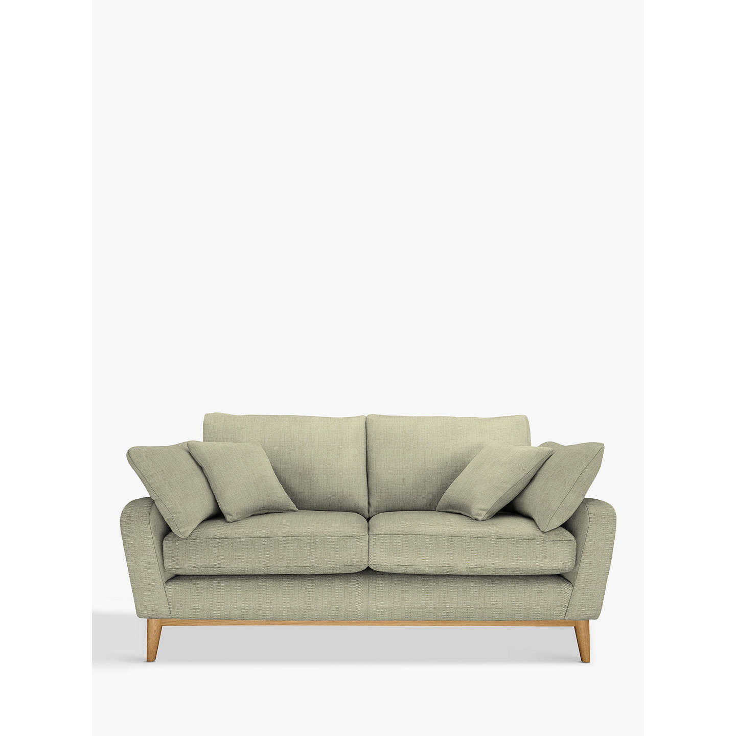 Buyercol for John Lewis Salento Medium 2 Seater Sofa, Oak Leg, Maria Eau De Nil Online at johnlewis.com