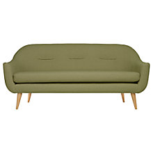 Buy Content by Terence Conran Marlowe Large 3 Seater Sofa, Green Online at johnlewis.com