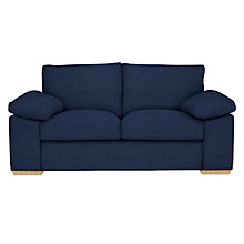 Buy John Lewis Marshall Medium 2 Seater Sofa, Light Leg, Henley Midnight Online at johnlewis.com