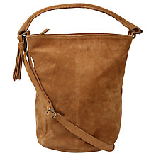 Buy Fat Face Bonnie Suede Bucket Bag Online at johnlewis.com