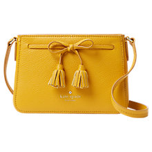 Buy kate spade new york Hayes Street Eniko Leather Across Body Bag Online at johnlewis.com