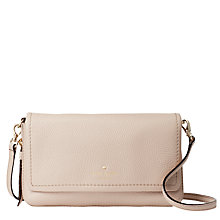 Buy kate spade new york Cobble Hill Taryn Pebbled Leather Across Body Bag, Rose Cloud Online at johnlewis.com