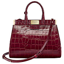 Buy Aspinal of London Dockery Leather Small Snap Bag Online at johnlewis.com