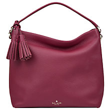 Buy kate spade new york Orchard Street Small Natalya Leather Satchel Online at johnlewis.com
