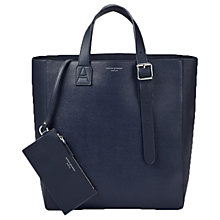 Buy Aspinal of London The A Tote Leather Bag Online at johnlewis.com