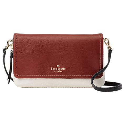 Buy Kate Spade New York Cobble Hill Taryn Leather Cross Body Bag Online At Johnlewis