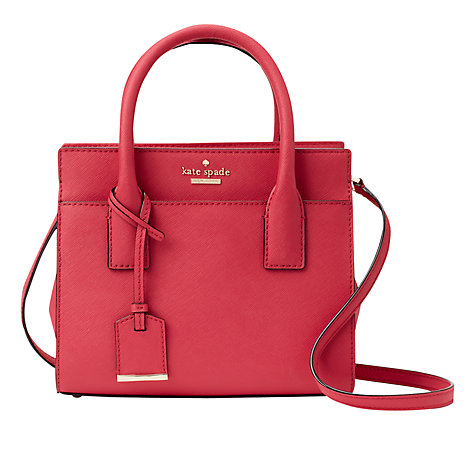 Buy kate spade new york Cameron Street Mini Candace Leather Satchel Online at johnlewis.com