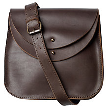 Buy Fat Face Danni Leather Across Body Bag Online at johnlewis.com