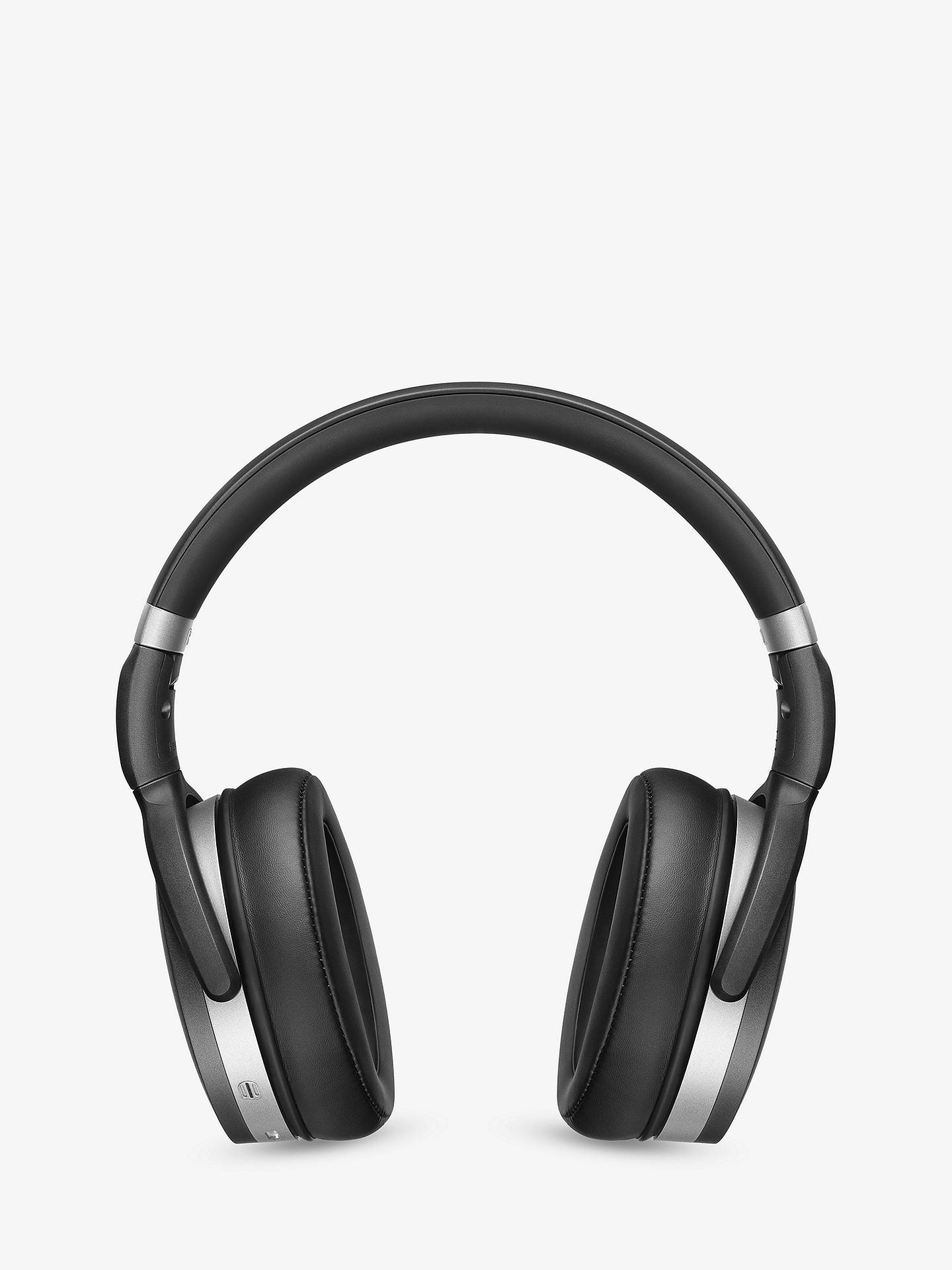 BuySennheiser HD 4.50 Noise Cancelling Bluetooth/NFC Wireless Over-Ear Headphones with Inline Microphone & Remote, Black Online at johnlewis.com