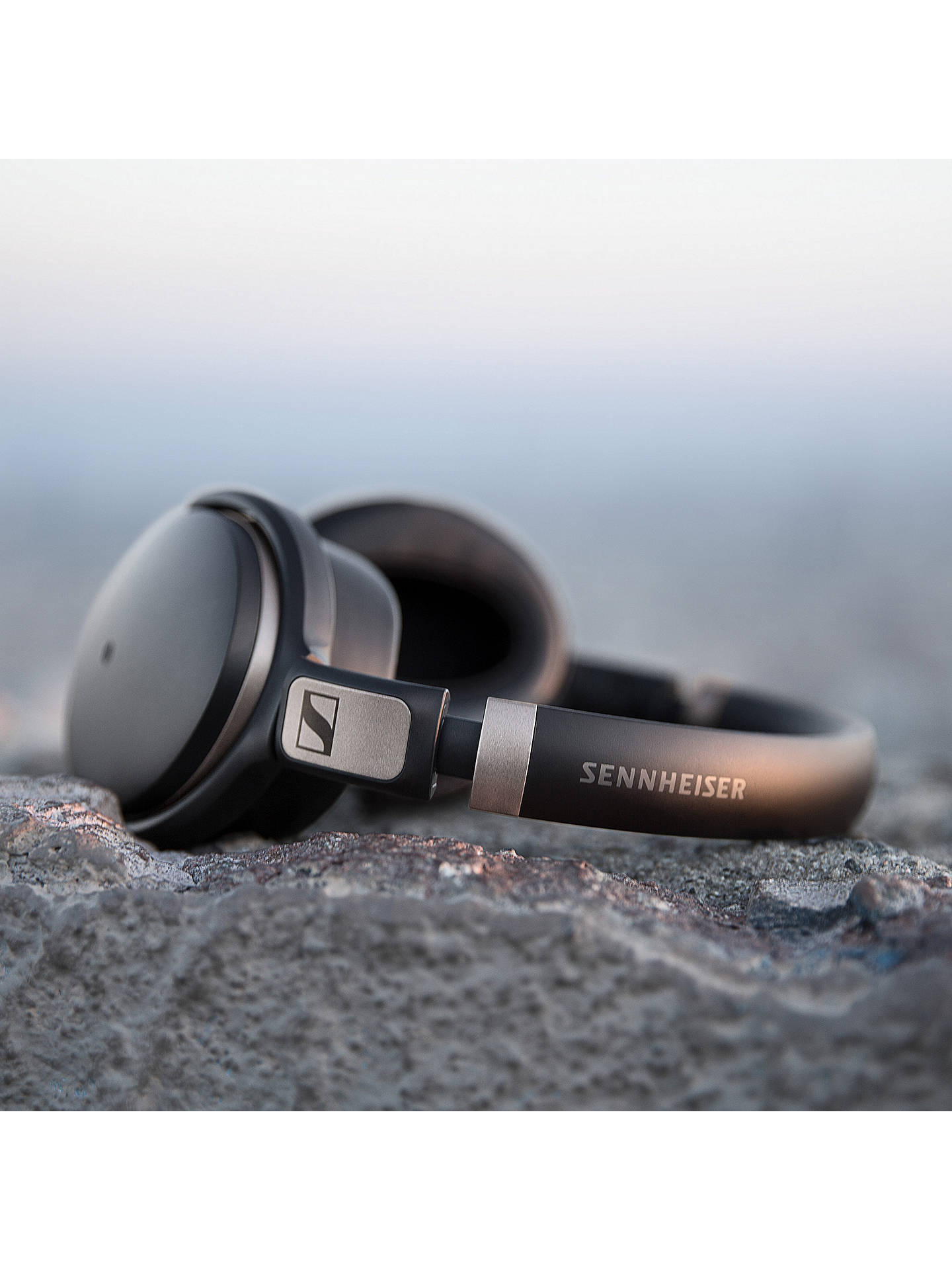 Buy Sennheiser HD 4.50BTNC Noise Cancelling Bluetooth/NFC Wireless Over-Ear Headphones with Inline Microphone & Remote, Black & Silver Online at johnlewis.com