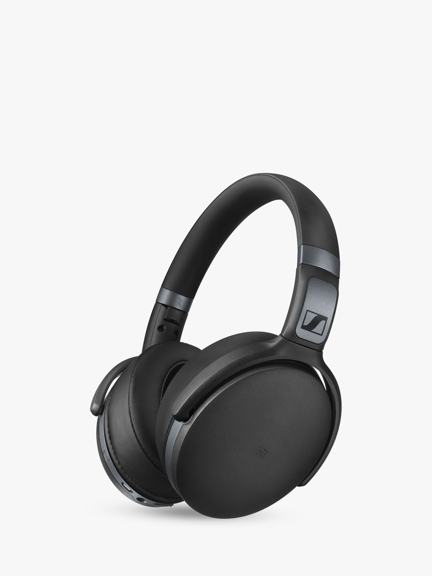 c66298ef2e6 Sennheiser HD 4.40 Bluetooth/NFC Wireless Over-Ear Headphones with Inline  Microphone & Remote, Black at John Lewis & Partners