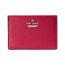 Buy kate spade new york Cedar Street Leather Card Holder Online at johnlewis.com